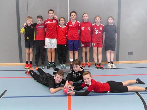 Handball 2019 Sieger Jungen 5a