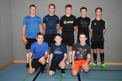 Weihnachtsfußballturnier Klasse 8b