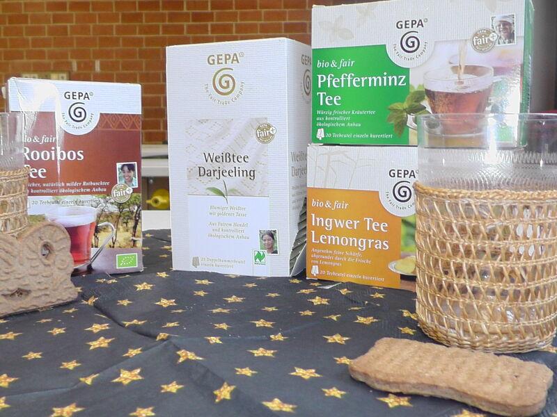 Teesorten fair gehandelt