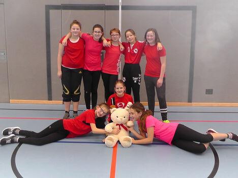 Handball2019 Sieger Mädchen 6a