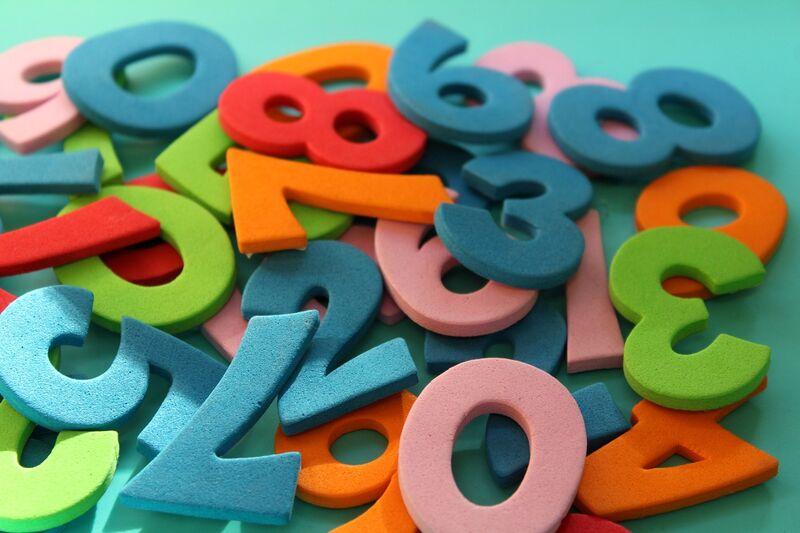 Mathe Zahlen
